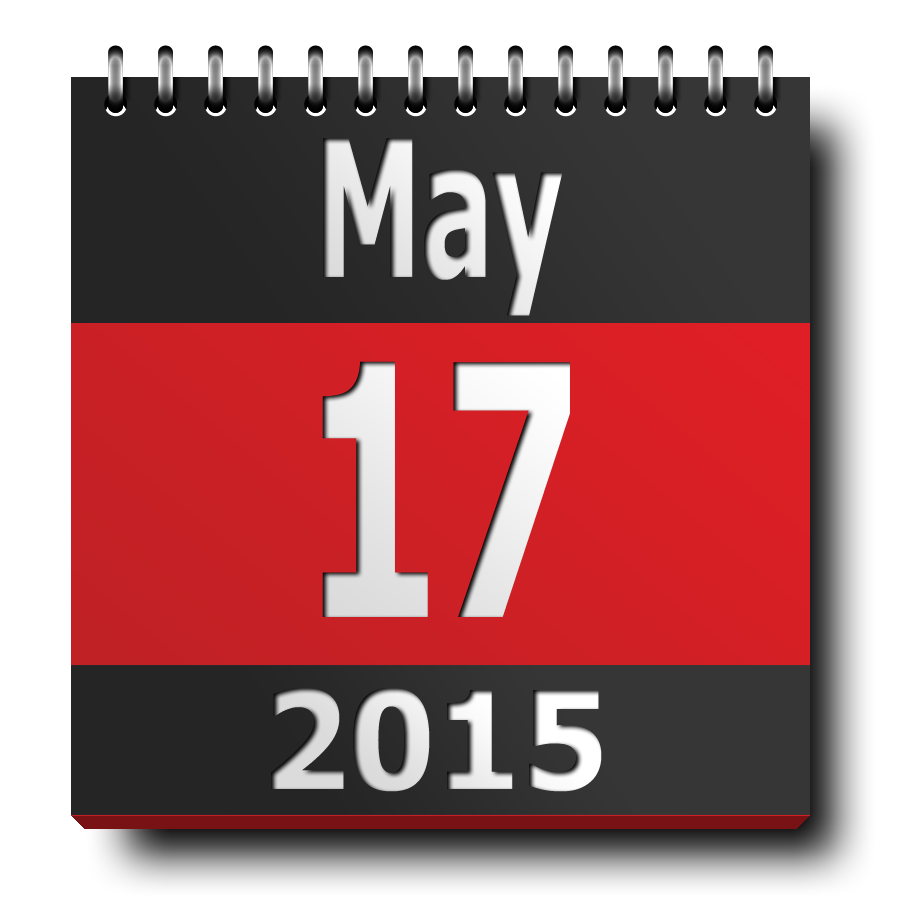 calendar-icon ISM2015 - may 17