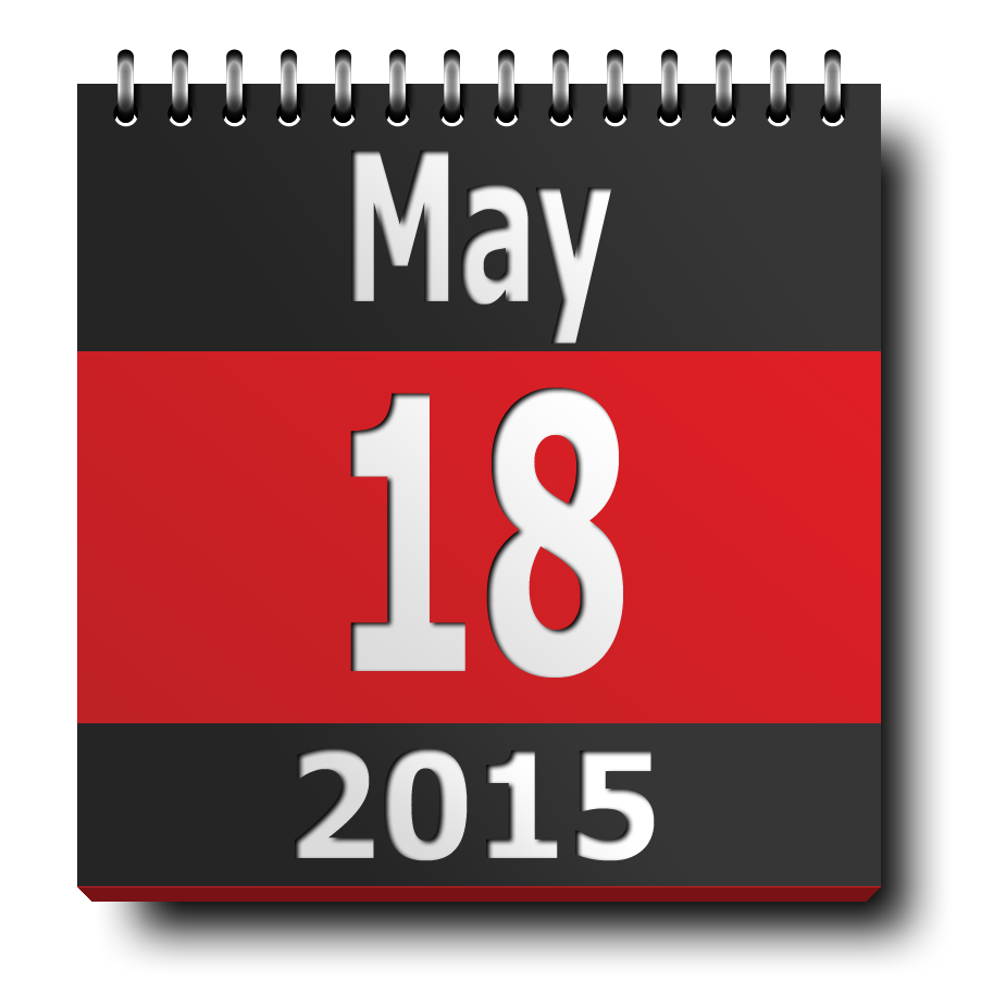 calendar-icon ISM2015 - may 18
