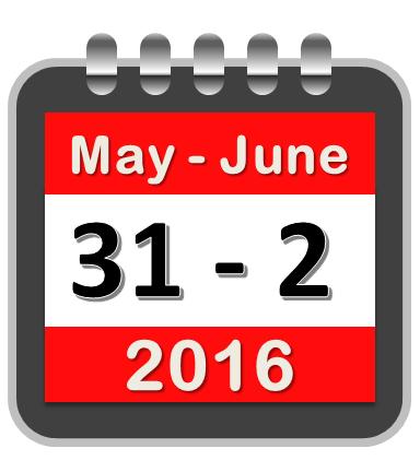 ISM2016 calendar