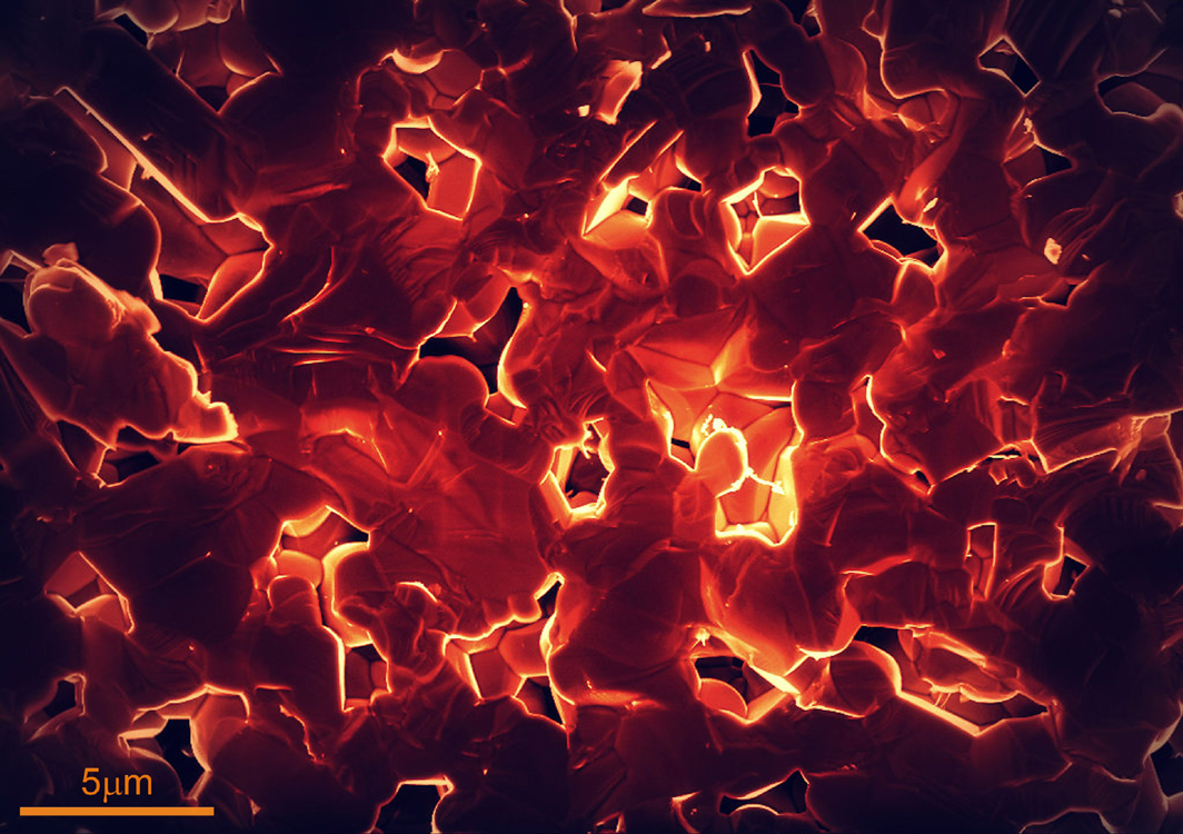 Lava - The ISM2014 Winning Micrograph