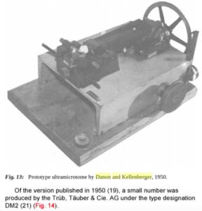 Danon-Kellenberger Microtome