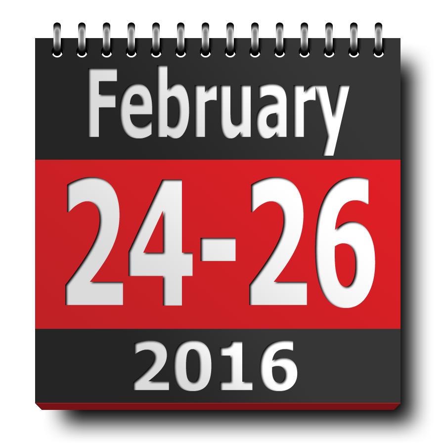 ETH2016 calendar