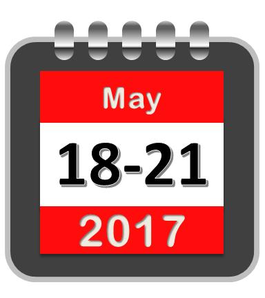 ICHC2017 calendar